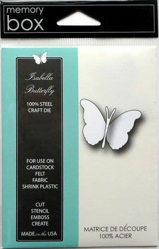 Memory Box die - Isabella Butterfly 98507